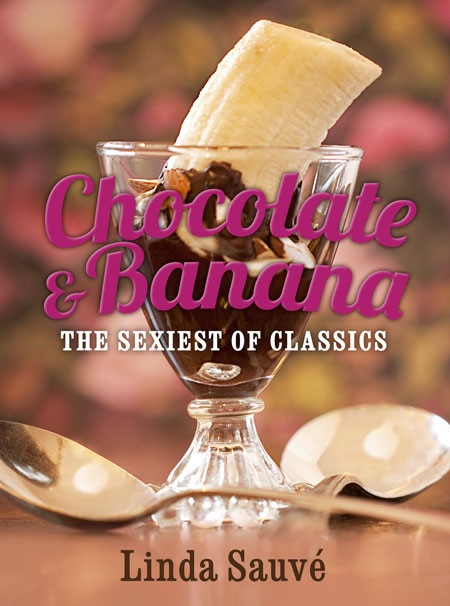 Book cover, Chocolate & Banana