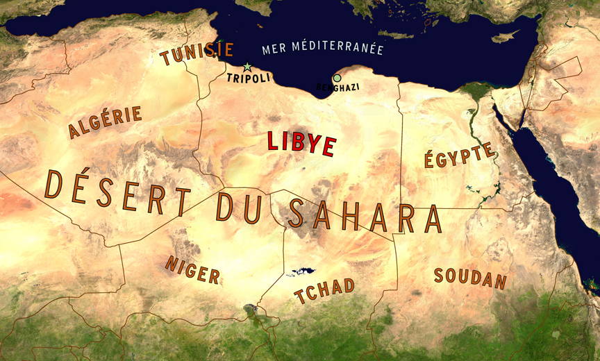 Map, Maghreb