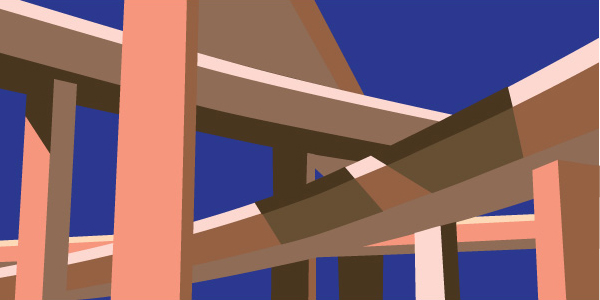 Illustration: Elevated HIghway