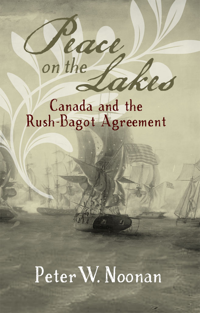 "Book cover ""Peace on the Lakes"""