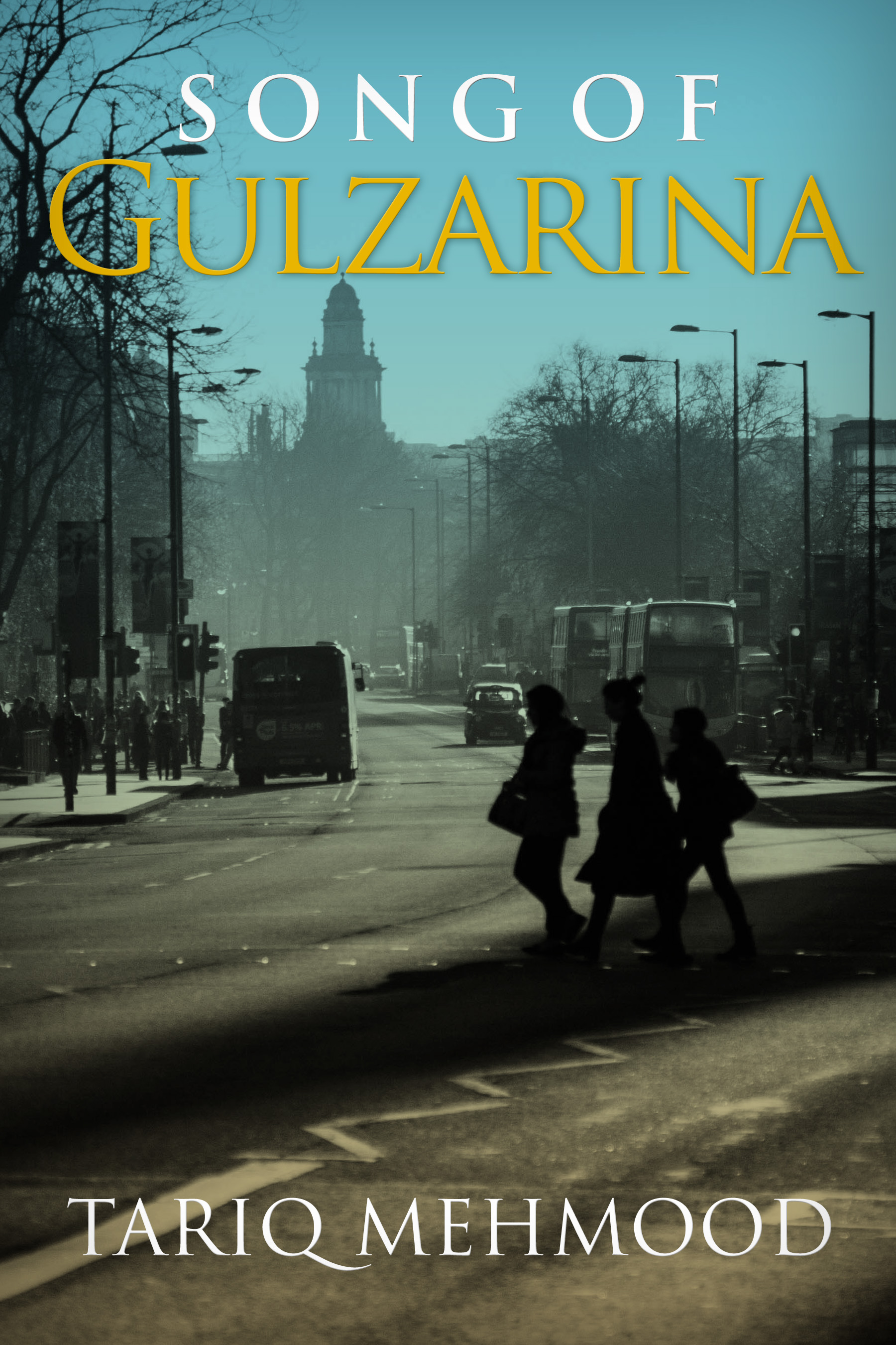"Book cover ""Song of Gulzarina"""
