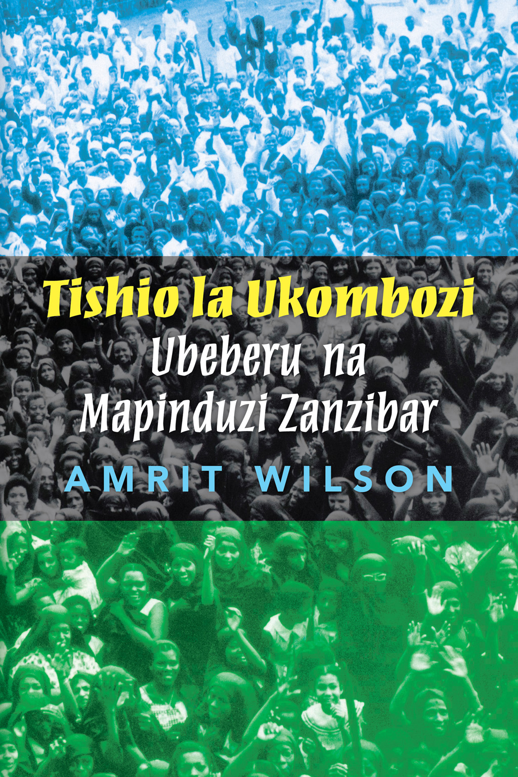 "Book cover ""Tishio la Ukombozi"""