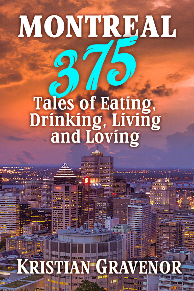 """Book cover """"Montreal 375"""""""