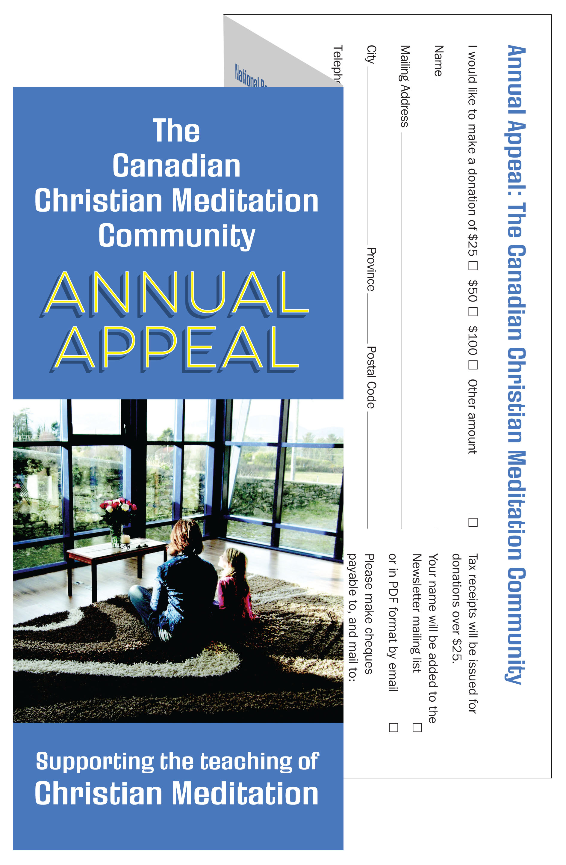 Brochure, Annual Appeal